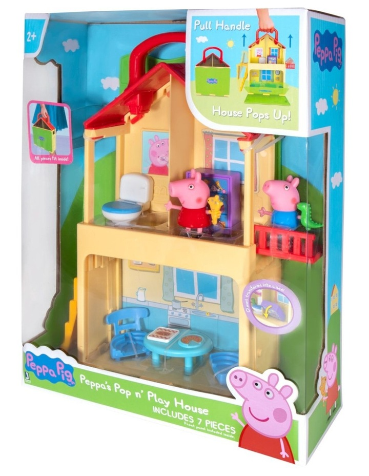 Peppa Pig Pop N Play House image 1