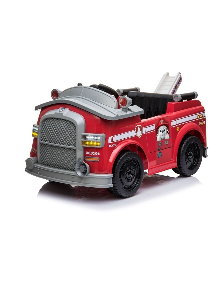 Marshall Fire Truck Ride On Vehicle image 1