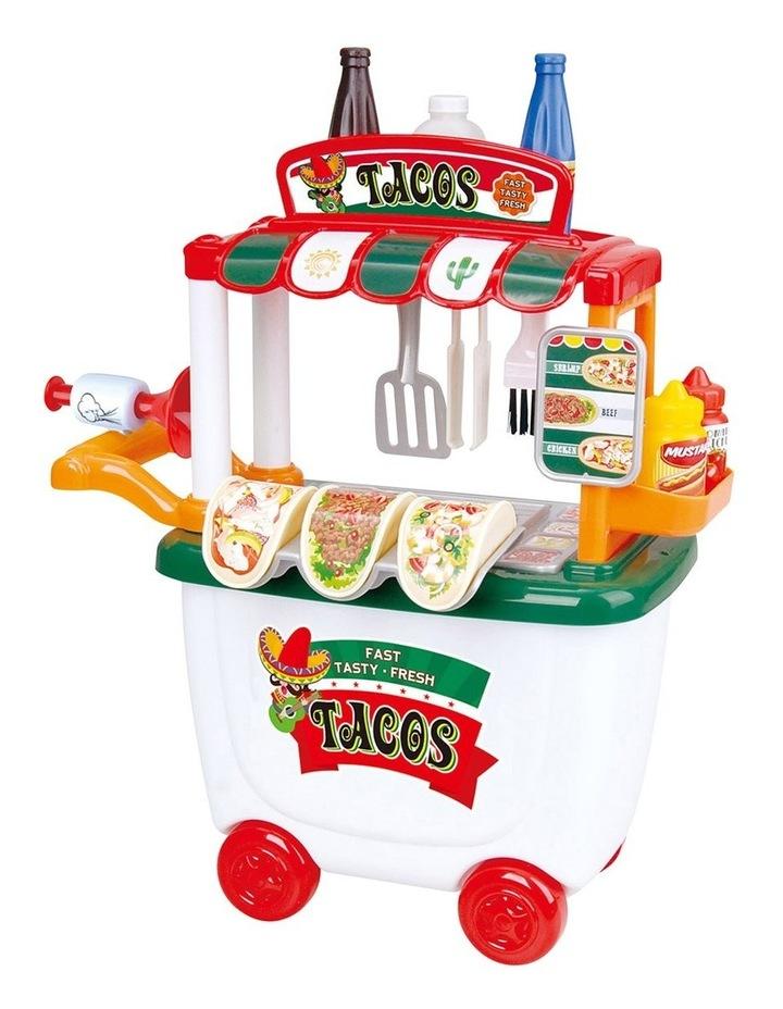 Gourmet Taco Party Cart - 29 Pieces image 1