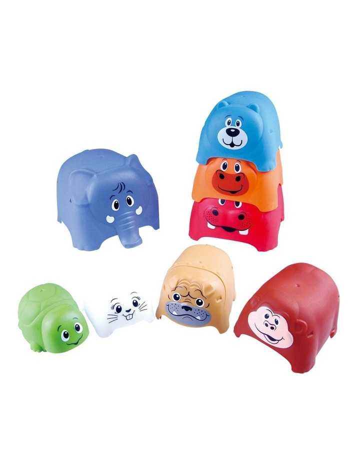 Animal Party Stacker - 8 Pcs image 1