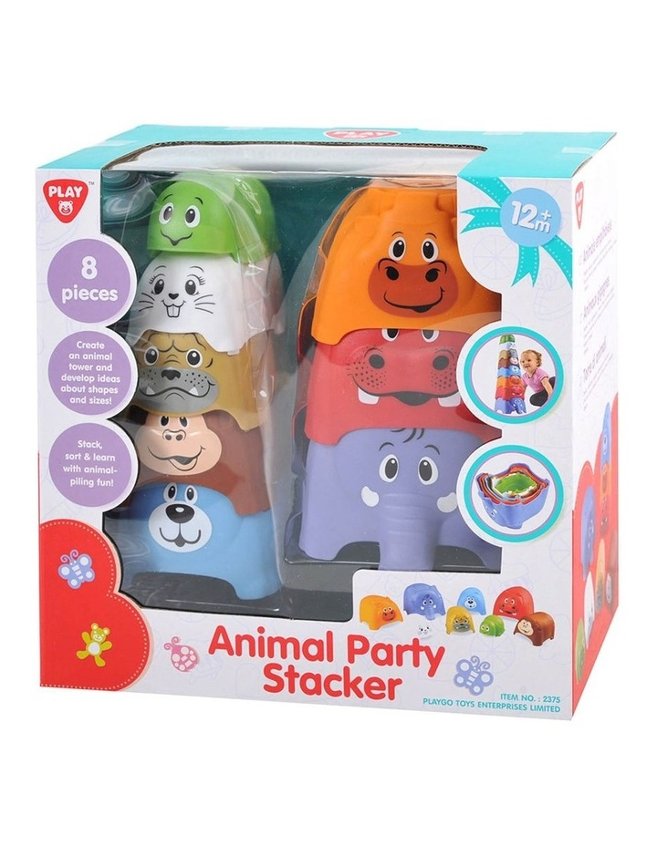 Animal Party Stacker - 8 Pcs image 2