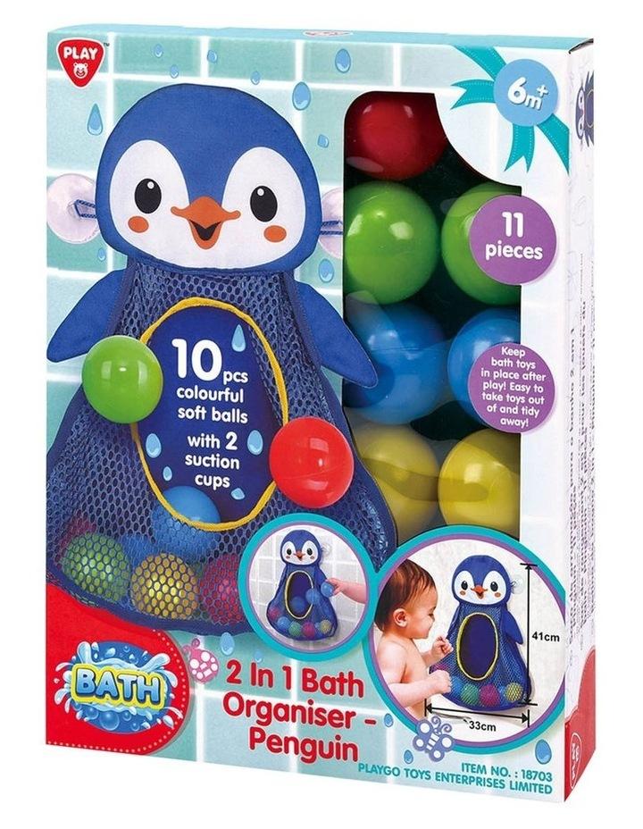 2 in 1 Bath Organizer - Penguin image 2