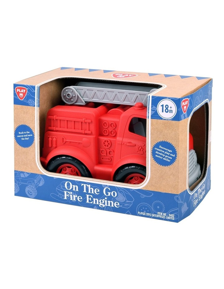 On The Go Dump Truck/ Fire Engine/ City Bin Truck image 4