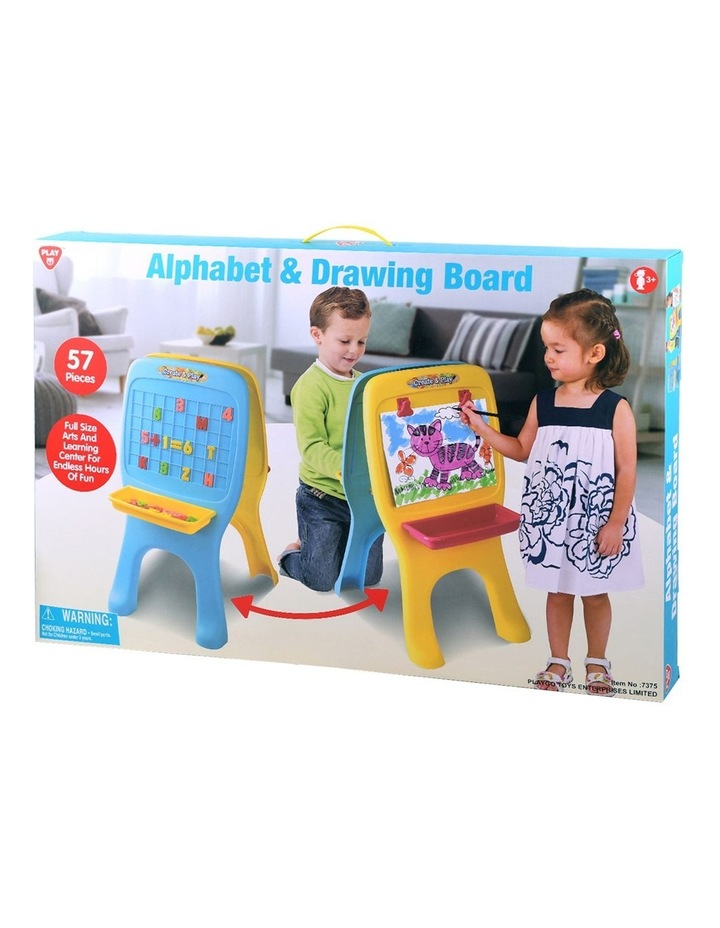 Alphabet & Drawing Board - 57 Pcs image 3