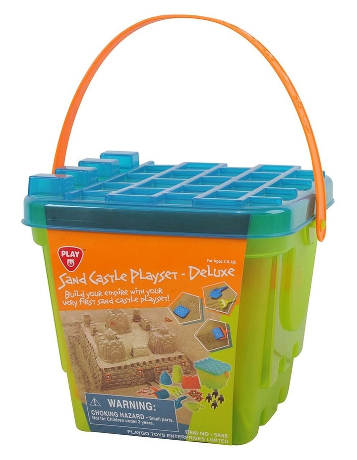 Sand Castle Playset - Deluxe image 1