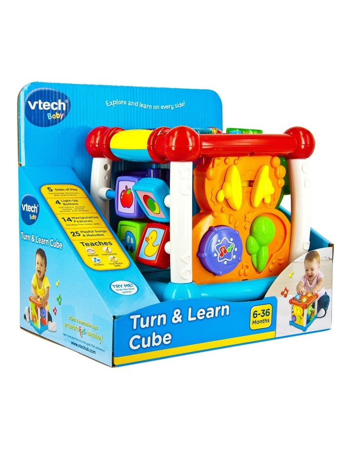 VTech Turn & Learn Cube image 2