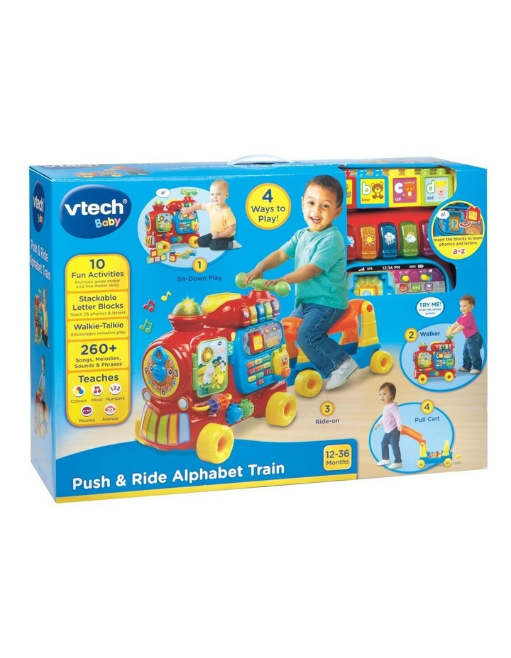 Push & Ride Alphabet Train image 2