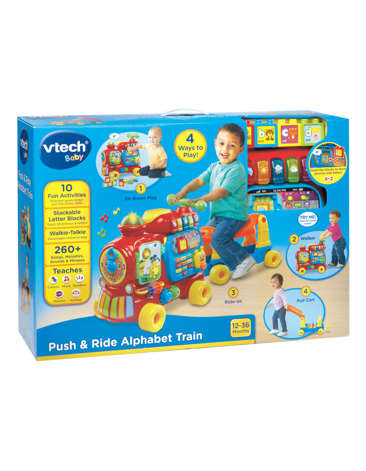 Push & Ride Alphabet Train image 1