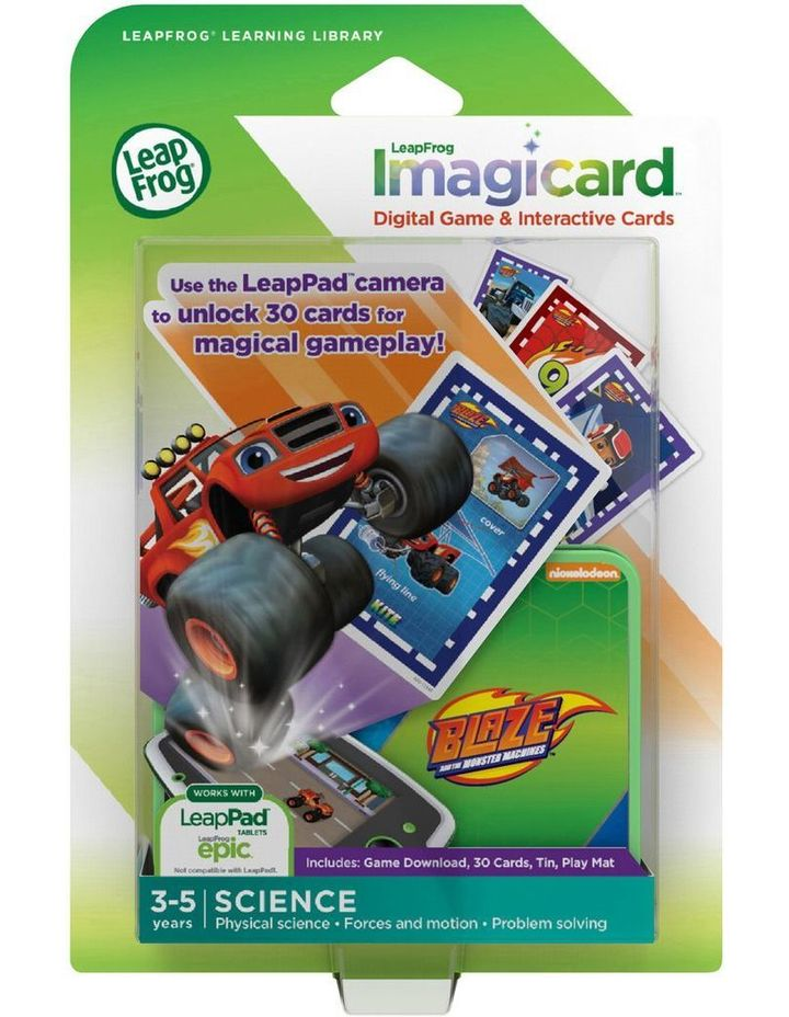 Blaze And The Monster Machine Imagicards Science Game image 1