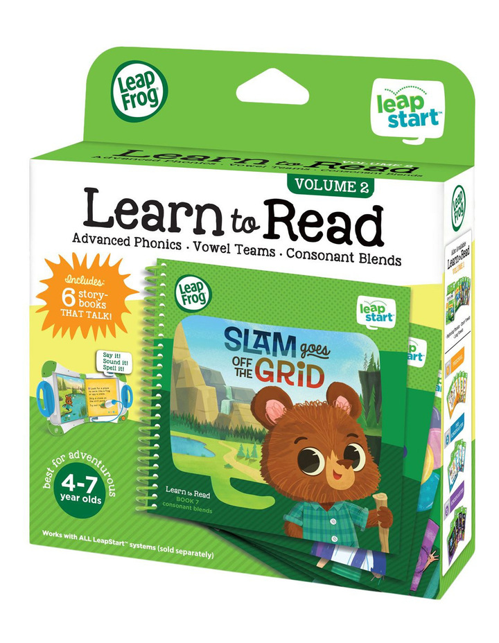 Leapstart Learn To Read Volume 2 image 1