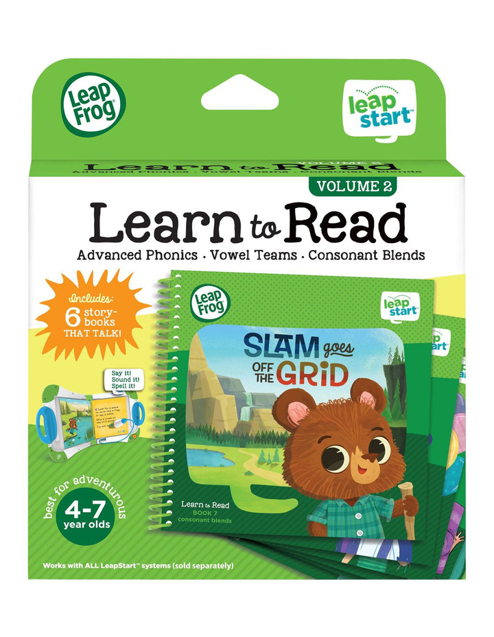 Leapstart Learn To Read Volume 2 image 2