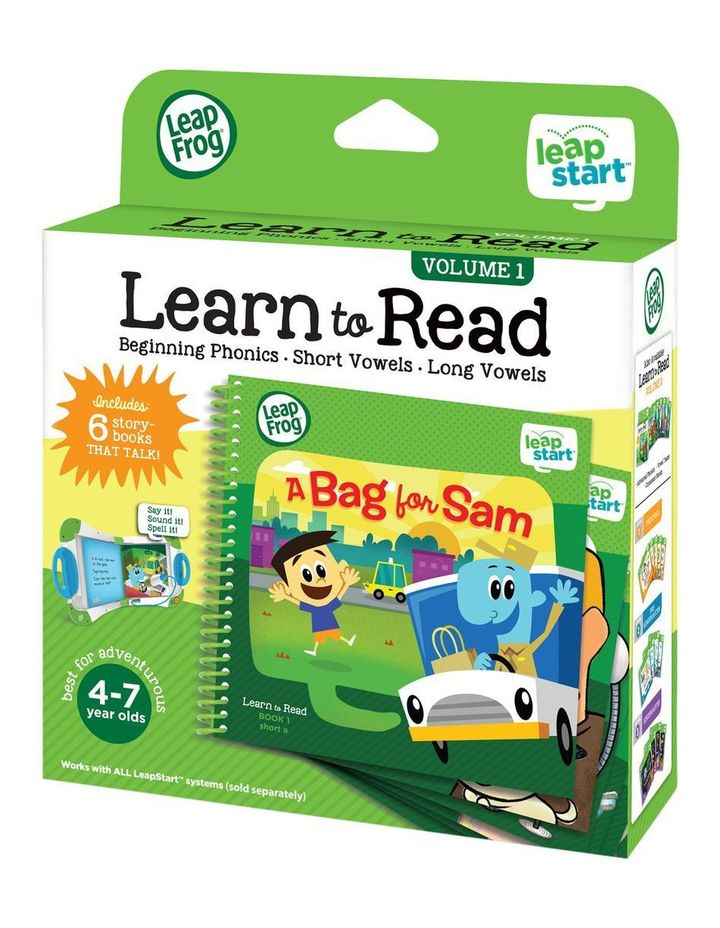 LeapStart Learn To Read Pack (6 books) image 3
