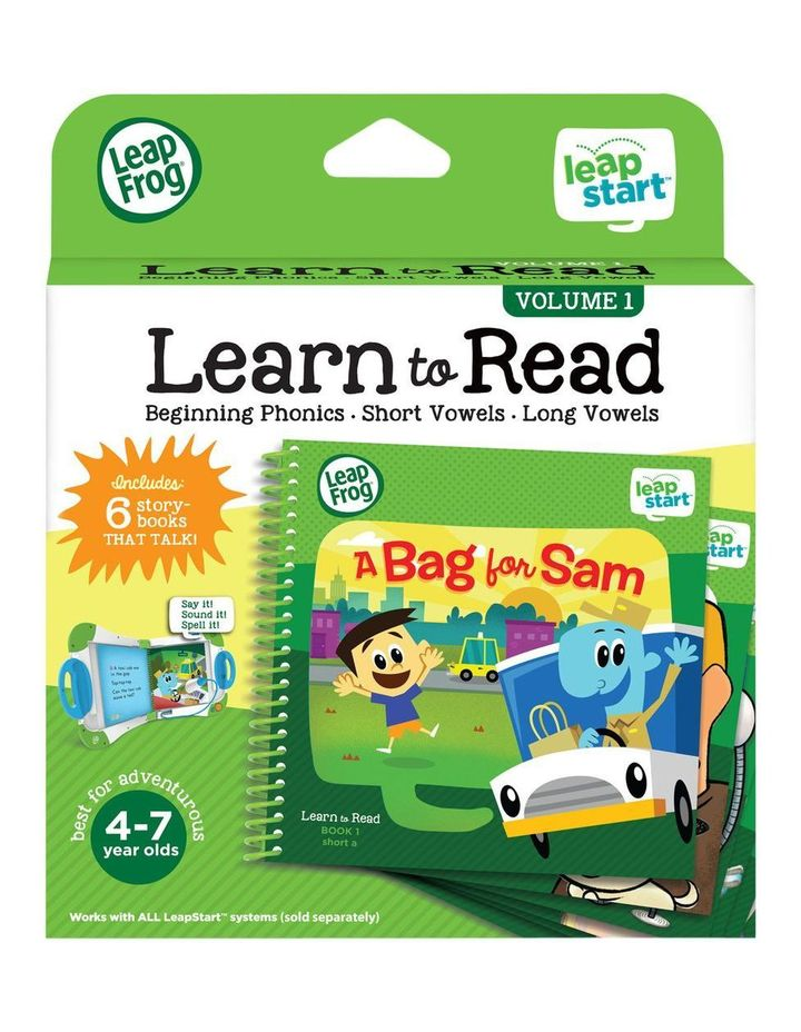 LeapStart Learn To Read Pack (6 books) image 4