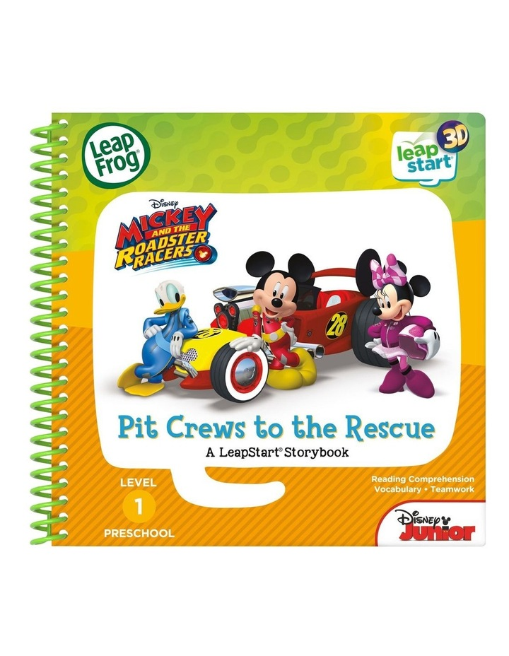 LeapStart 3D Mickey and the Roadster Racers Pit Crews to the Rescue image 1