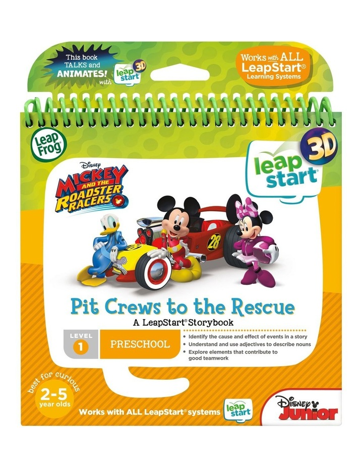 LeapStart 3D Mickey and the Roadster Racers Pit Crews to the Rescue image 3