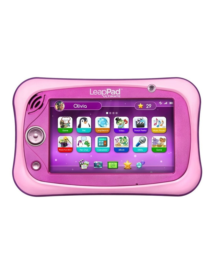 LeapPad Ultimate Ready for School Tablet Pink image 1
