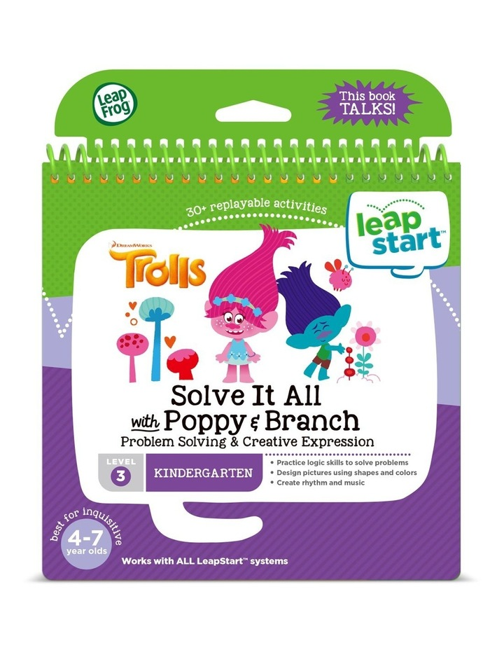 LeapStart Trolls Solve It All with Poppy & Branch Activity Book image 1