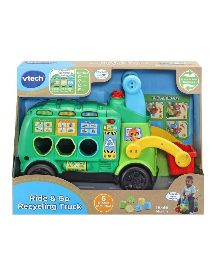 Ride & Go Recycling Truck image 1