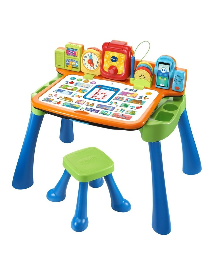 Learn & Draw Activity Desk Blue image 2