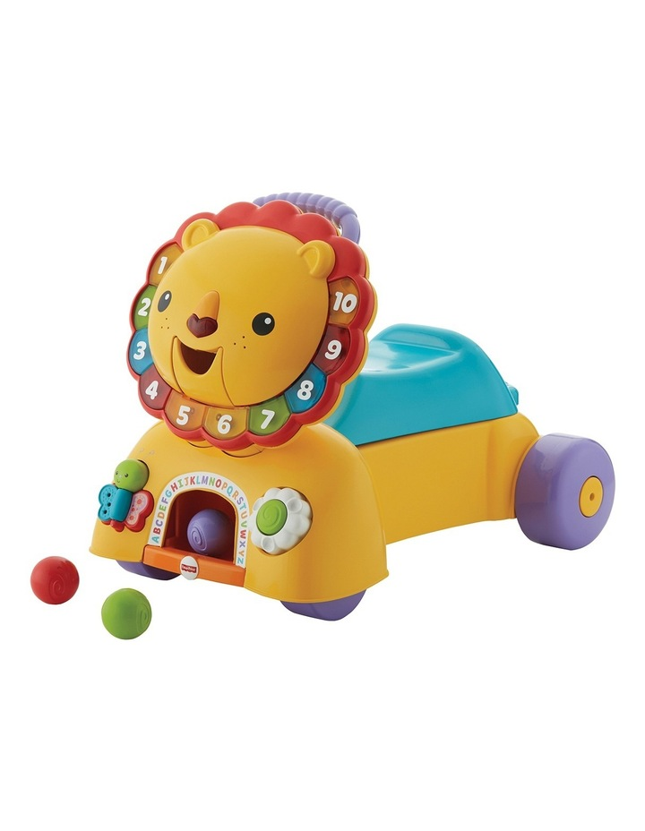 Fisher-Price 3in1 Sit and Stride Lion image 1