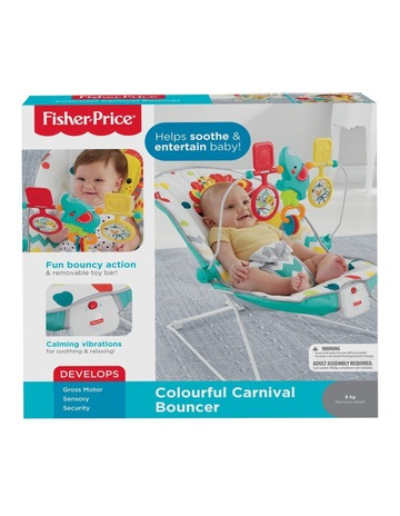 4574503c8fa39 Fisher-Price Colourful Carnival Bouncer
