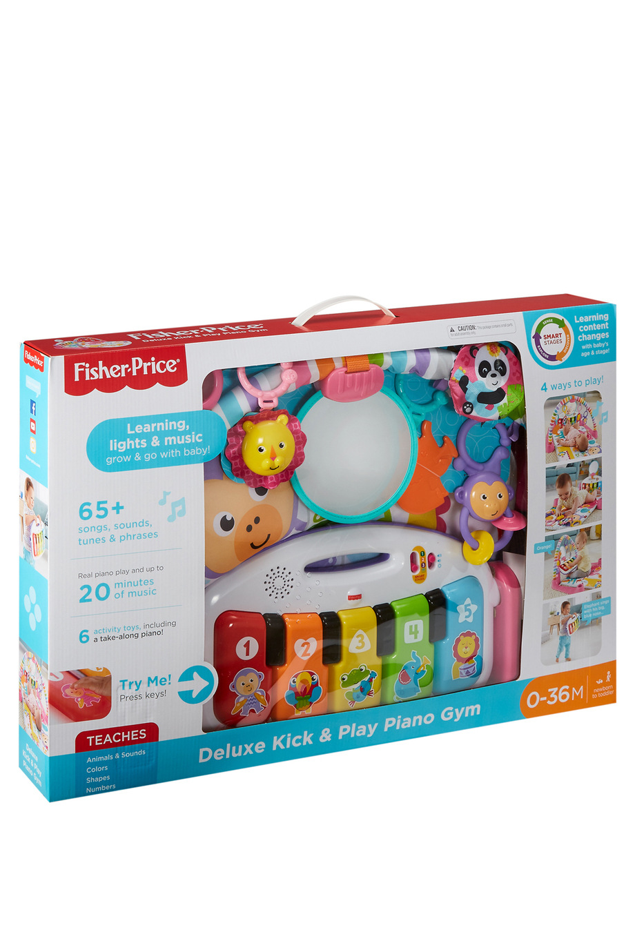 Fisher Price Deluxe Kick N Play Piano Myer Online