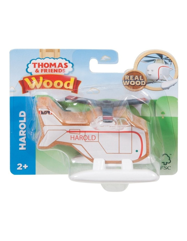 Wooden Railway Harold The Helicopter image 2