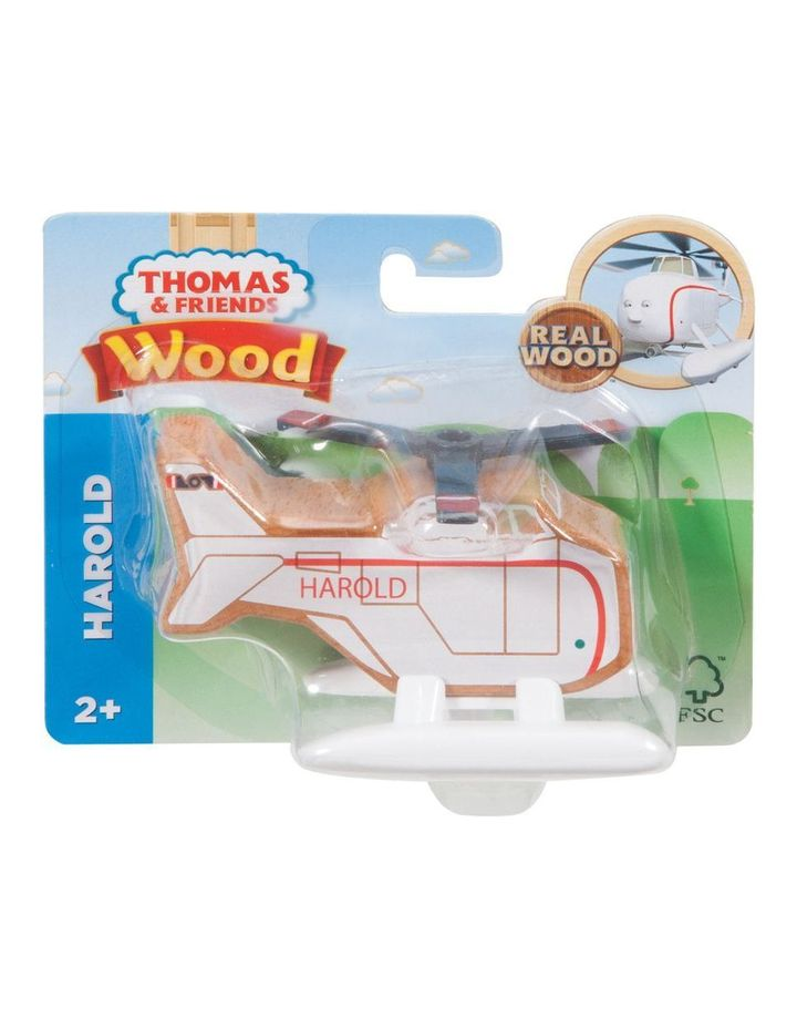 Wooden Railway Harold The Helicopter image 1