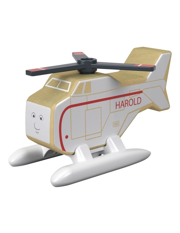 Wooden Railway Harold The Helicopter image 3