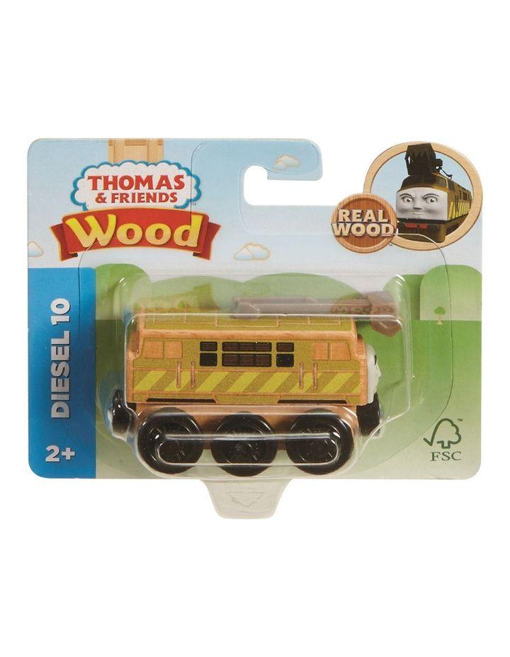 Wooden Railway Diesel 10 image 1