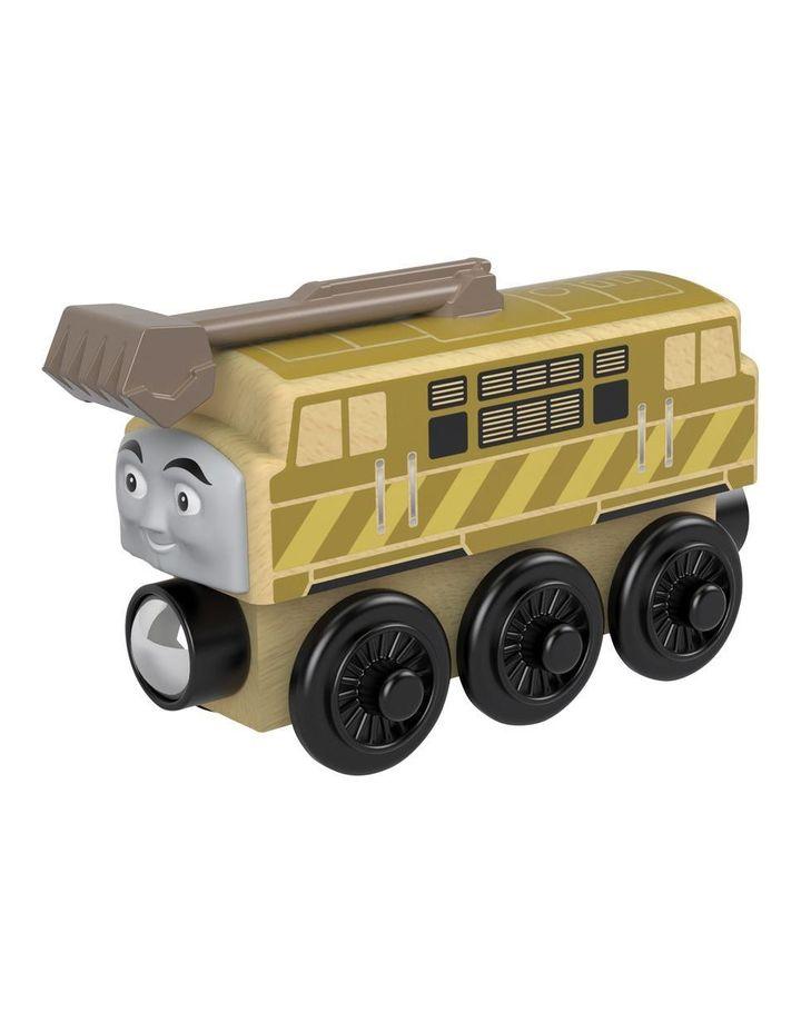 Wooden Railway Diesel 10 image 2