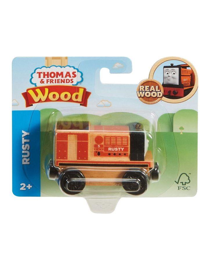 Wooden Railway Rusty image 1