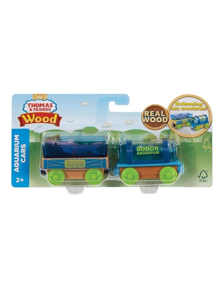 Wooden Railway Aquarium Cars image 1