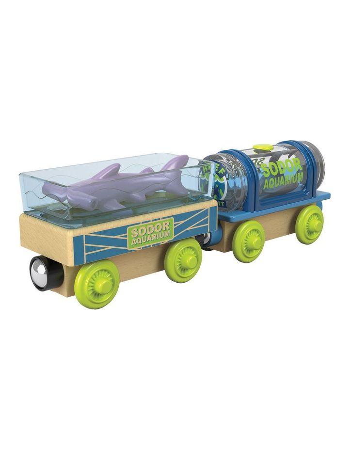 Wooden Railway Aquarium Cars image 2
