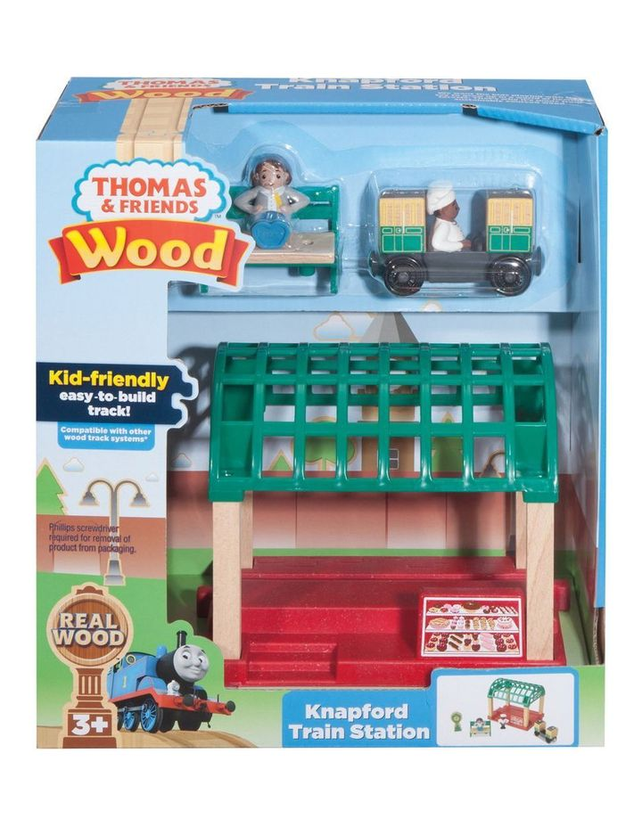Wooden Railway Knapford Train Station image 1