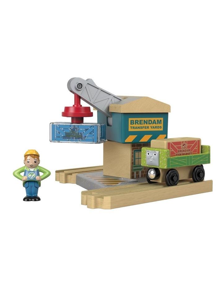 Wooden Railway Transfer Crane image 2