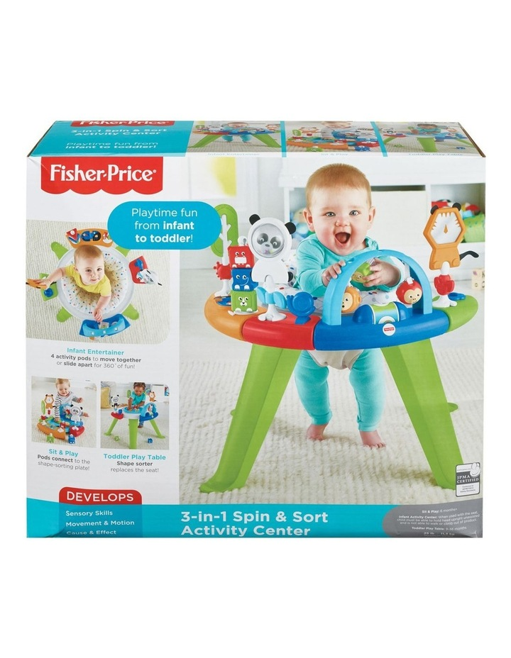 3-in-1 Spin & Sort Activity Center image 1