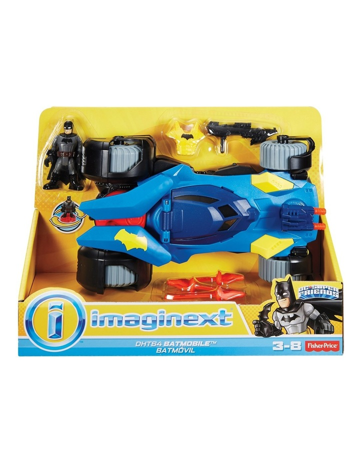 Imaginext DC Super Friends Batmobile image 1