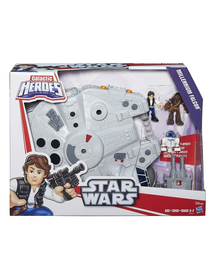 Galactic Heroes Star Wars Millennium Falcon image 1