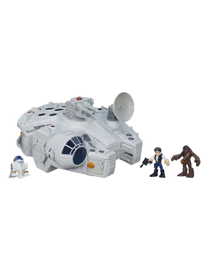 Galactic Heroes Star Wars Millennium Falcon image 2