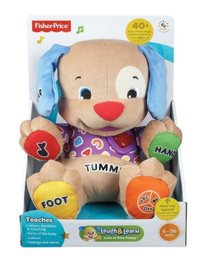 Fisher Price Laugh Learn Love To Play Puppy Myer