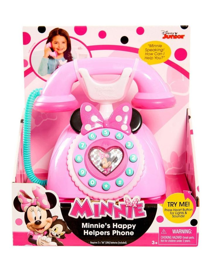 Minnie Happy Helpers Rotary Phone image 1
