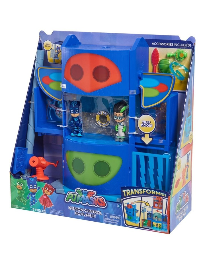 PJ Masks Transformation HQ Playset image 2