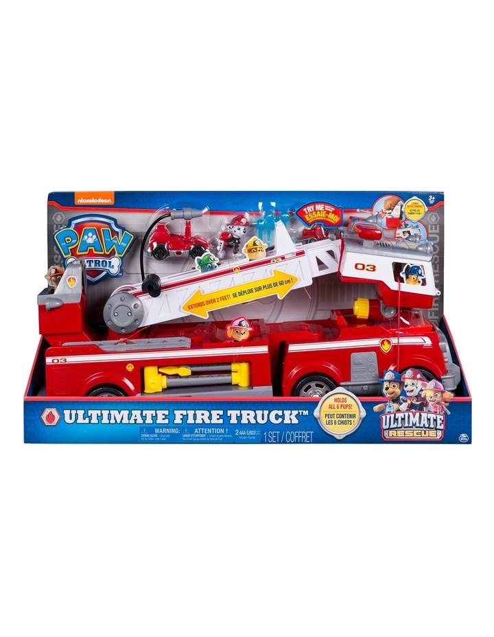 Ultimate Rescue Fire Truck Playset image 1