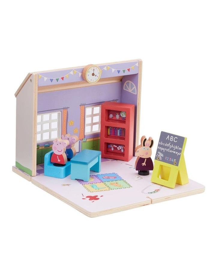 Wood Play Schoolhouse image 1