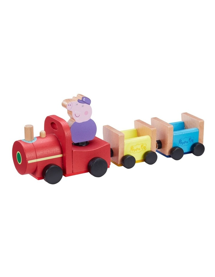 Wood Play Train & Figures image 1
