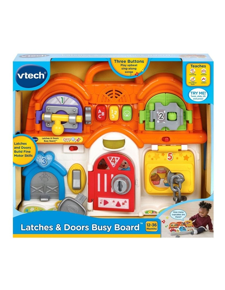 Latches & Doors Busy Board image 2