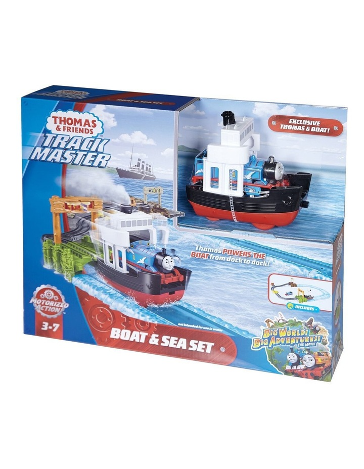 Trackmaster Boat & Sea Set image 1