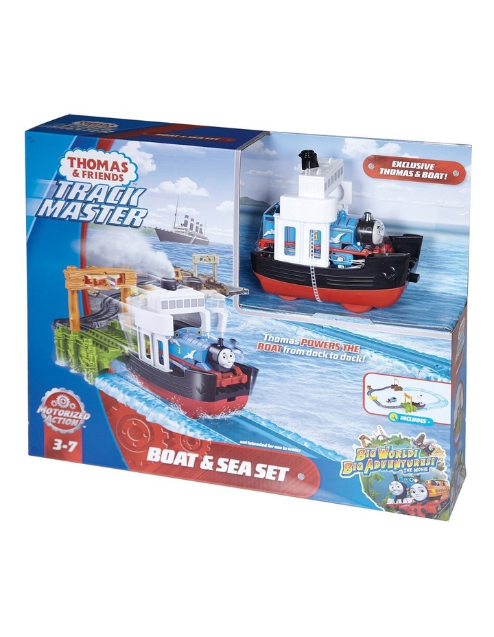 Trackmaster Boat & Sea Set image 2