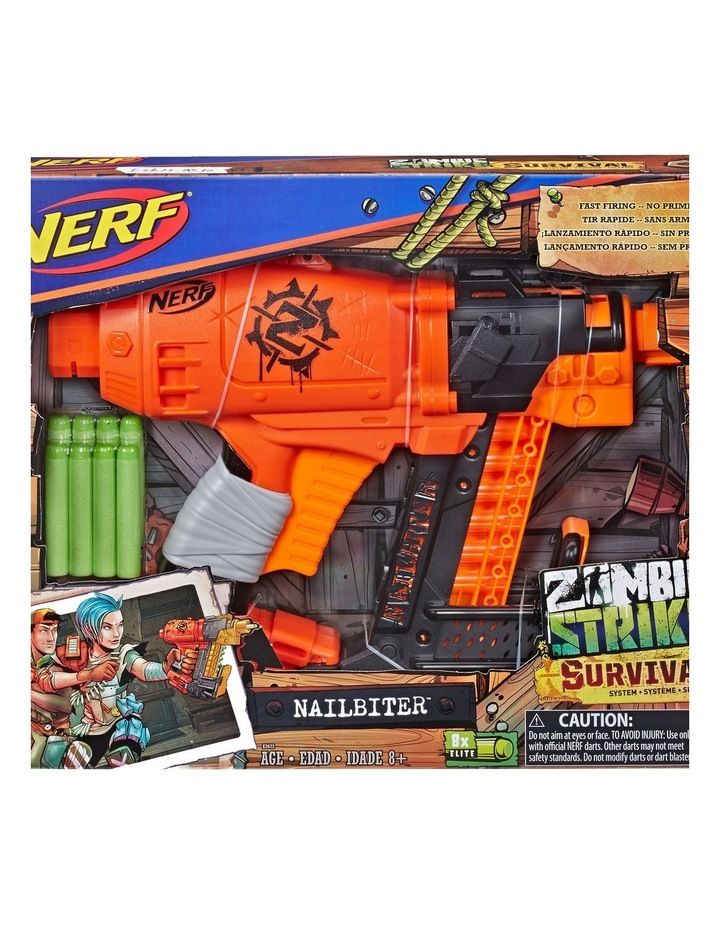 NERF Zombie Strike NailBiter Blaster image 1